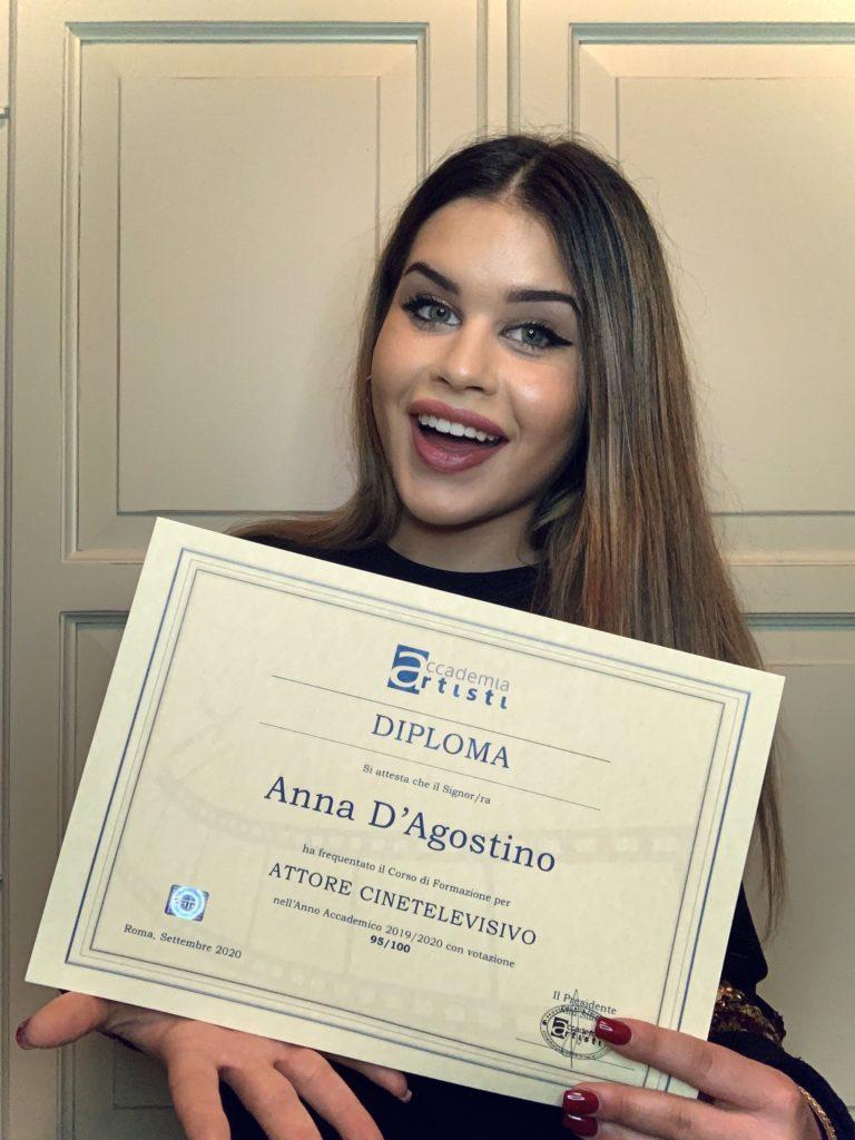 Anna d'Agostino Accademia Artisti