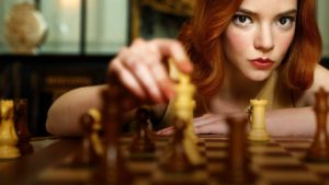 regina degli scacchi netflix